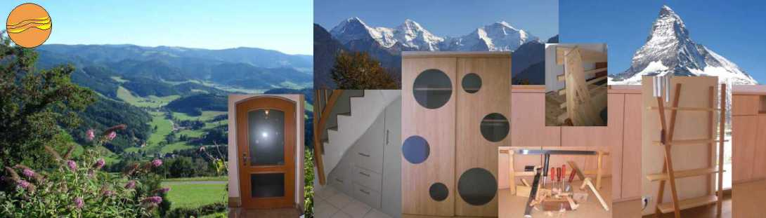 Meisterschreinerei für Ihre Ideen in Holz und Glas